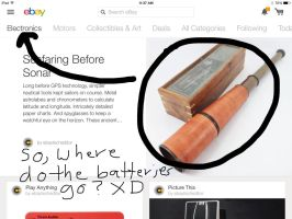 eBay Electronics: Batteries NOT included XD by elfofcourage