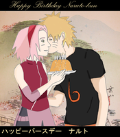 Happy birthday Naruto by Celious