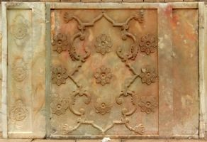 Persian Architecture 07 - Stone Relief by fuguestock