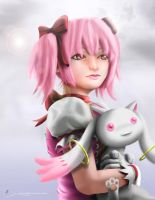 Kaname Madoka: Prelude of the Goddess by 2ble-ZZ