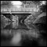 2013-254 Bridge over quiet water by pearwood
