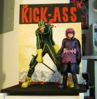 Kick Ass and Hit Girl II by kitmangore