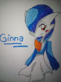 Ginna the gardevoir (fanart) by Analisathegardevoir