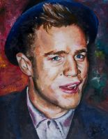 Olly Murs Oil Painting by artisticchrissy