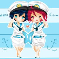 Sailor RinHaru by TriSarahTopss