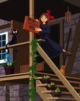 Kiki's Delivery Service Open for Business by DaveSong