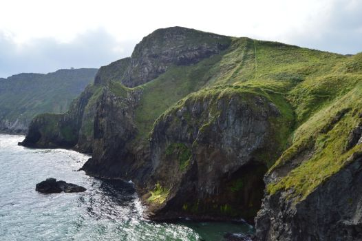 Carrick-A-Rede Rope Bridge 3141 by MajkaHarolds