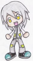 Human Sonic Chibi - Silver by EmmytheCat
