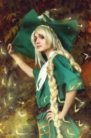 Magi: The Kingdom of Magic. Green magi by GeshaPetrovich