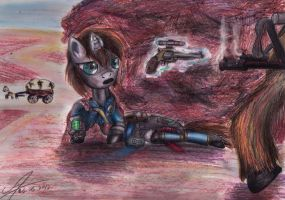 Fallout: Equestria.Chapter 4: Perspective by 1Vladislav