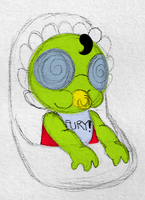 Baby Fawful by PuccaFanGirl