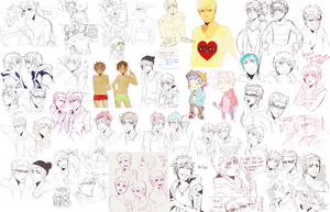 big fat RS sketch dump by animegirl000