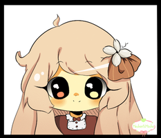 Chibi Headshot Commission: Pichufan1 by MechanicMocha