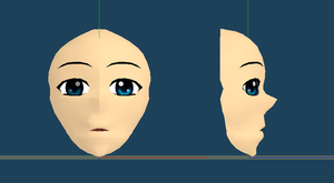 Metasequoia face test by Mayuen