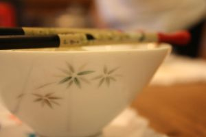 Chawan and Hashi by Peapup