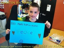 Rest In Peace Martin Richard! by Fragsey