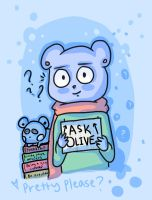 Ask Olive! by PixieParrot