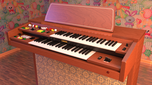 Yamaha Organ B-205 by gethiox