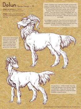 Dolun: Species Concept by pallanoph
