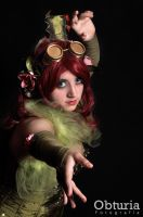 Poison Ivy Steam Punk - 2 by Mikycosplay
