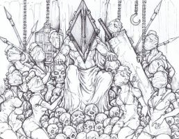 Pyramid Head King of Silent Hill by ChrisOzFulton