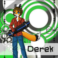 Fursona for Derek by Miss-Mae