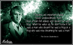 Fifth Doctor Quote - Dreams Are Important by MrArinn