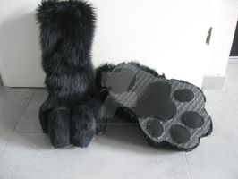 feetpaw commission 1 by FurryFursuitMaker