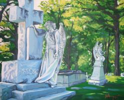 Cemetary Angels by wytrab8