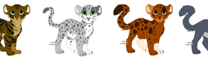 Adopts -Two left- by Lightstar98