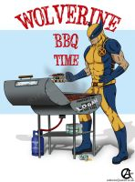 Wolverine's BBQ time! by shadow-of-insanity