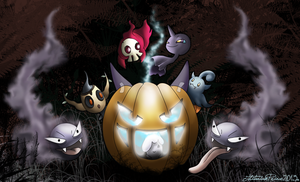 Halloween pokemon special 2013 by ThitaniumPrince