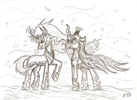 They are coming... by Anzu18