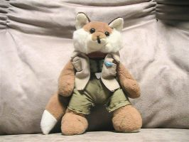 Star Fox Plush by DaveSchultz