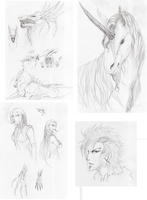Sketchdump by BlackChaos666