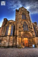 Trier Cathedral Mainentrance HDR by snuglyPanda