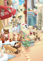 Ragnarok Online - Ice Tea by Sizzleboom