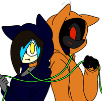 Me and Hoodie by XxColourCodexX