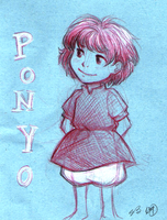 Ponyo by stitchedmoon