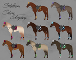 ELS Horse Showjumping Equipment - Stallions by michelle222