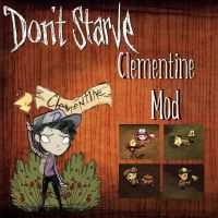 Don't Starve - Clementine {The Walking Dead} + DL by blue-pizza123