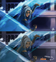 Legend of Korra- Kya Paint Over by RavenNoodle