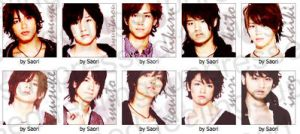 Icons feat Hey Say JUMP by dollfacesaori