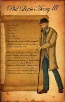 Call of Cthulhu - Phil Character Sheet by shafry