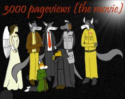 3000 pageviews by Omega-Warior