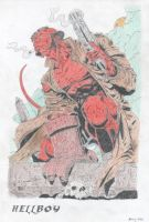 Hellboy by Xeraton