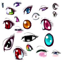 Some eyes.... :D by ekko-park