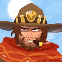 OW - McCree by Versiris