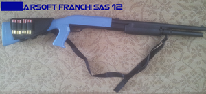 ASG Airsoft Franchi SAS 12 by Luckymarine577