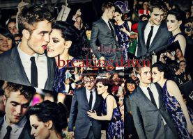 Breaking Dawn Premiere part 1: robsten by enchantingsuperior
